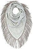 OPUS - Apuni scarf, Sciarpa Donna, Grigio (sensible grey 8038), Taglia unica (Taglia Produttore: 0)