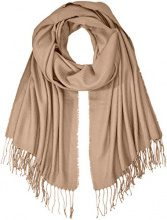 PIECES Pckial Long Scarf Noos, Sciarpa Donna, Marrone (Ginger Snap), Taglia Unica