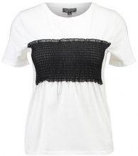 Topshop Petite SHEERING  Tshirt con stampa white