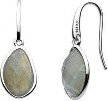 Kit Heath Donna  925  argento Trapezio   blu Labradorite FINEEARRING