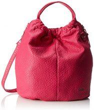 BoschaBo-1084-aa - Borsa a spalla Donna , rosa (rosa (pink)), 18x43x42 cm (B x H x T)