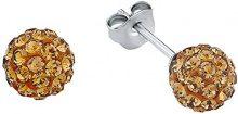 Amor           FINEEARRING, argento, colore: marrone, cod. 421553