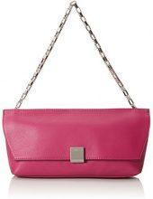 Calvin Klein Jeans K60K601073, Pochette Donna, Rosa (Berry 502), 5x8x31 cm (B x H x T)