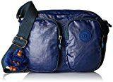 Kipling Patti - Borse a tracolla Donna, Blau (Lacquer Indigo), 25x19x0.1 cm (B x H T)