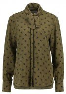 Custommade SEMINA Camicetta dark olive