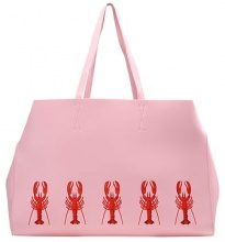 Skinny Dip LOBSTER CAMILLE Borsa a mano pink