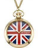 Old England Orologio da Polso, Analogico, Uomo, Plastica, Oro