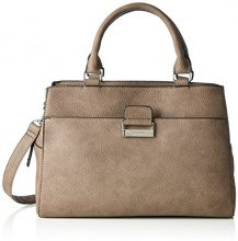 GERRY WEBERTalk Different II Handbag L - Borsa con Maniglia Donna , Marrone (Braun (taupe 104)), 35x24x14 cm (B x H x T)