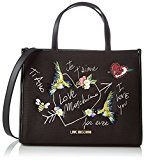Love Moschino Moschino - Donna, Schwarz (Black Canvas), 10x21x28 cm (B x H T)