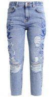 Topshop Petite TONAL Jeans slim fit middenim