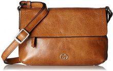 Gerry Weber Aragonien Ii Shoulderbag Shf - Borse a tracolla Donna, Braun (Cognac), 1x15x22 cm (B x H T)