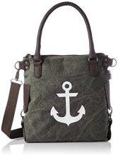 Bags4Less Anker-mini - Borse a spalla Donna, Schwarz (Washed-schwarz), 34x20x32 cm (B x H T)