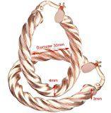 Citerna - Orecchini, Oro rosa 375/1000 (9 carati), Donna