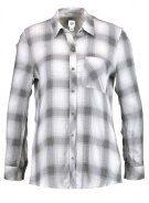 GAP DRAPY PLAID  Camicia ombre plaid black