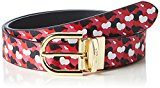 Tommy Hilfiger Love REV Belt 3.0, Polo Donna, Rosa (Tommy Red/Allover Heart Print), 85 cm (Taglia Produttore: 85)