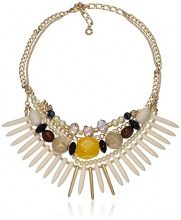 Pilgrim Collier da donna in vetro multicolore, 2,4 cm, 21153_2.4, base metal, cod. 211532501