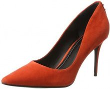 Kendall and KylieKkbritney - Scarpe con Tacco Donna , arancione (Orange (Bright Coral 10582 Suede)), 36