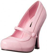 Pleaser Cutie02/Bppt, Pompe Punta Chiusa da Donna, Rosa (Pink (Baby Pink)), 7 UK (40 EU)