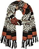 PIECES Pcneel Long Scarf, Sciarpa Donna, Multicolore (Copper Brown), Taglia Unica