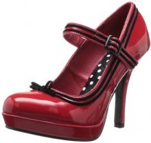 Pleaser Sec15/Rpt, Scarpe da Donna, Rosso (Rot), Rosso (Rot), 37 EU (4 UK)