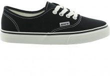 Sneakers basse con suola bianca