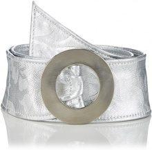 MGM - Solaire, Cintura da donna, argento (gun metal 3), 80 cm (Taglia produttore: 80)