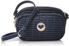 Lola Casademunt Berenice - Borse Baguette Donna, Azul (Marino), 19x27x36 cm (W x H L)