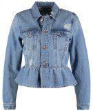 Vero Moda VMMERNY RUFFLE Giacca di jeans medium blue denim