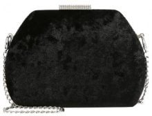 Dorothy Perkins Pochette black velvet