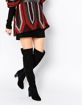 ASOS - KITE - Stivali larghi sopra il ginocchio