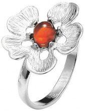 Nature d'Ambre-Anello in argento 925, con ambra, regolabile 3111201