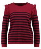 ONLY ONLCATJA  Maglione rumba red/sky captain