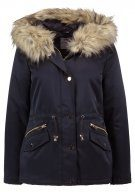 Dorothy Perkins Petite LUXE Parka navy