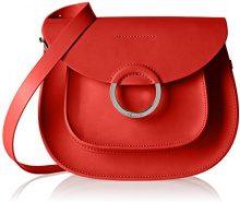 Pollini Sc4525, Borse a tracolla Donna, Rosso (Red), 9x23x17 cm (B x H x T)