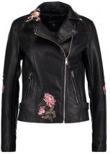Dorothy Perkins BIKER Giacca in similpelle black