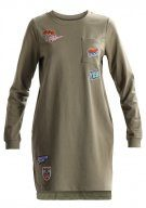 TWINTIP BADGE SWEAT Vestito estivo khaki