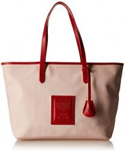 Timberland TB0M5152, Borsa a spalla Donna, Rosso (RED), 16.5x27.5x45.5 cm