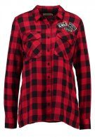 TWINTIP Camicia red/black