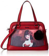 Boscha Zip Bag - cartella Donna, Rot (Red), 15x23x33 cm (L x H D)
