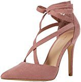 New LookTia - Scarpe con Tacco donna , rosa (Pink (Light Pink)), 42 2/3