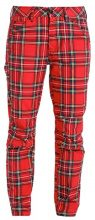GStar PHARRELL WILLIAMS ELWOOD X25 3D BOYFRIEND Pantaloni milk/pompeian red