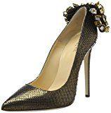 GEDEBEVERONIQUEP02 62BR.TEX.P 36 - Scarpe con Tacco Donna , Oro (Gold (62Br.tex.P)), 37