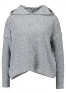 ONLY ONLIDA HOOD Felpa con cappuccio light grey melange