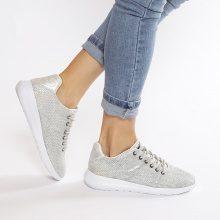 Sneakers con mesh metallizzate Crosby
