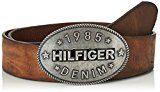 Tommy Hilfiger THD Plaque, Cintura Donna, Marrone (Tan 248), 85
