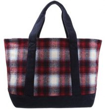 GAP Shopping bag red plaid