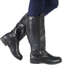 Stivali con inserti elastici laterali