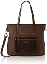 Fly London Koby585fly - Borse a mano Donna, Brown, 6x28x42 cm (W x H L)