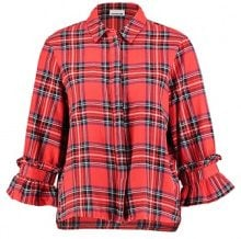 Noisy May Camicia flame scarlet/combo 1