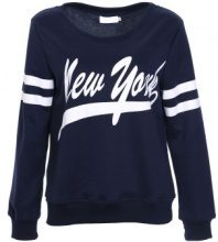 Pullover New York con righe